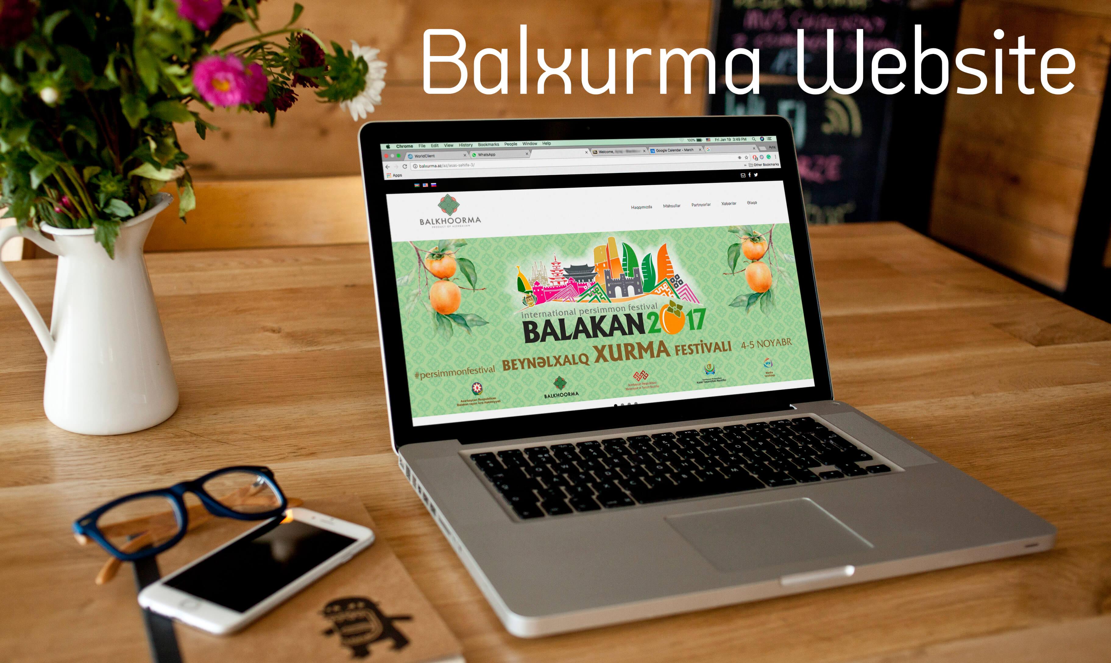 Balxurma Website