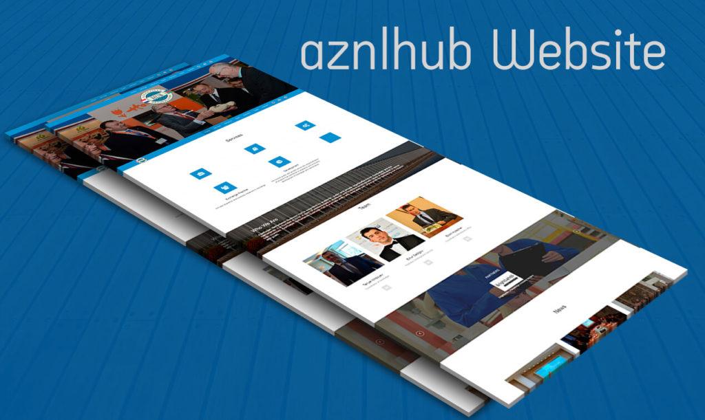 AZNLHUB website